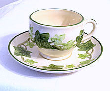 Gladding McBean - Franciscan Ivy - Cup & Saucer Sets - Lot of 3