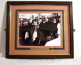 "Josephine Baker - Vintage Framed Photograph - Yates Wine Lodge - Photo 10"" x 12"""