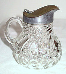 EAPG - King Glass Co - Kings 500 - Syrup Pitcher