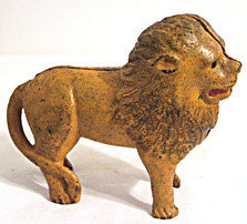 A C Willimans Cast Iron - Still Bank - Lion
