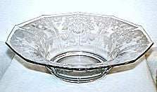 Elegant Glass - Cambridge - Lorna - Large Round Bowl 11 3/4""