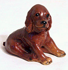 Morten Studio - Seated Cocker Spaniel - Figurine 3""