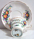 Queen Ann - Musical - Bone China Cup & Saucer Set