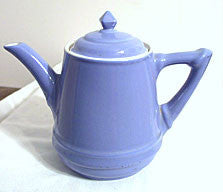 Hall China - Musical Teapot - Cadet Blue - No Musical Movement