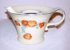 Hall China - Orange Poppy - Melody Teapot - No Lid