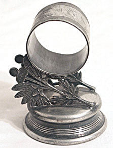 Pairpoint Mfg - Silver Plate - Figural Napkin Ring