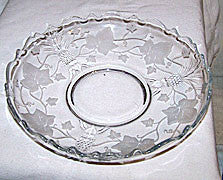 Elegant Glass - Heisey - Plantation Ivy - Gardenia Float Bowl 9 1/2""