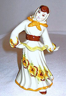 CAS - Ceramic Arts Studio - Polish Girl 6""