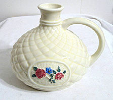 Porcelier - Quilted Floral Cameo - Decanter 6""
