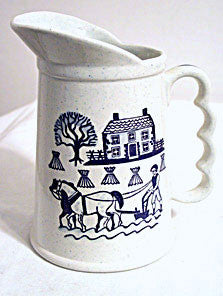 Metlox - Provincial Blue - Pitcher - 6 3/4""