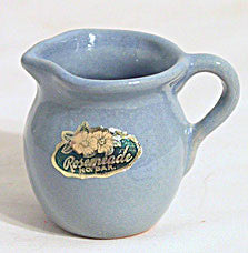 Rosemeade - Miniature Pitcher - w/ Sticker - 2""