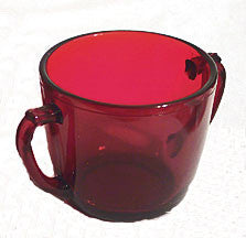 Anchor Hocking - Royal Ruby - Sugar Bowls - Lot of 3