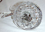 Elegant Glass - Cambridge - Seagull Flower Frog 9 1/2""