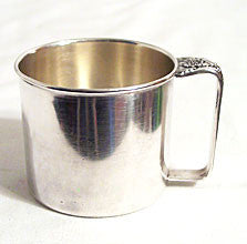 Holmes & Edwards - Spring Garden - Silver Plate - Child's Mug -  2 1/2""