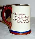 Dartmouth Pottery - Torquay Motto Ware - Mug 4 3/4""