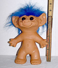 "Uneeda Large Naked Troll 8"" - 1960s"