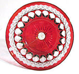 Westmoreland - Waterford - Ruby Flashed Compote 5 1/4""