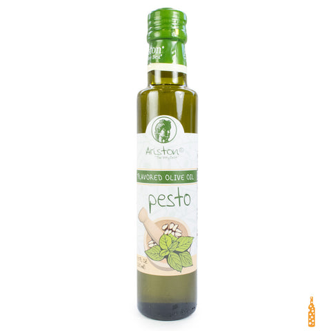 Ariston Olive Oil Infused with Pesto - Cheese and Wine Traders