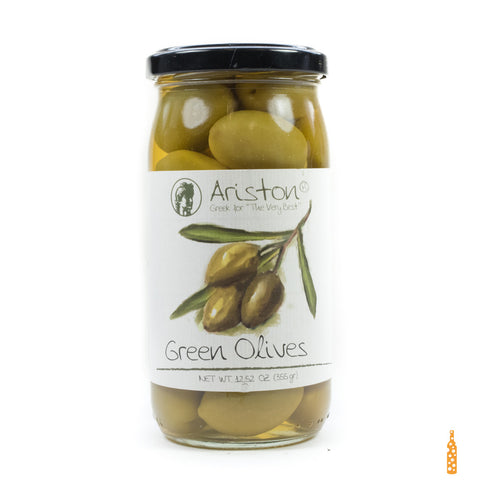 Ariston Green Olives - Cheese and Wine Traders