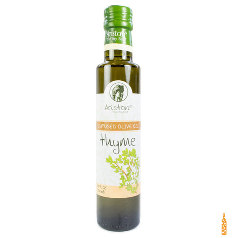 Ariston Olive Oil Infused with Thyme - Cheese and Wine Traders