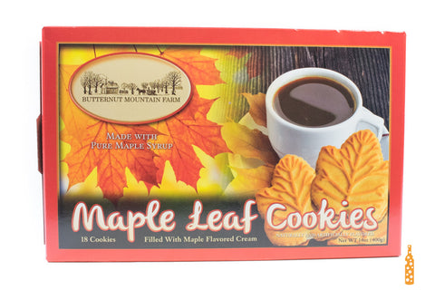 Butternut Mountain Farm - Maple Leaf Cookies - Cheese and Wine Traders