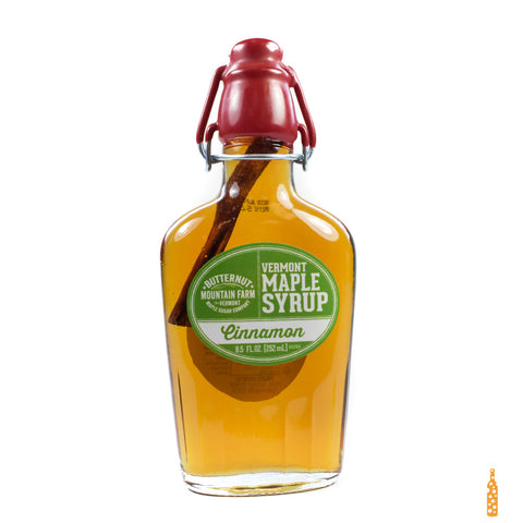 Butternut Mountain Farm - Grade A Maple Syrup Cinnamon Infused Clasp Top Bottle (8.5 FL OZ) - Cheese and Wine Traders