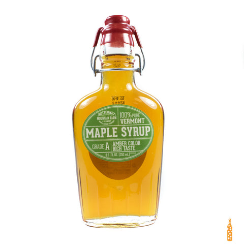 Butternut Mountain Farm - Grade A Maple Syrup Clasp Top Bottle (8.5 FL OZ) - Cheese and Wine Traders
