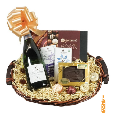 Bubbles & Truffles Basket
