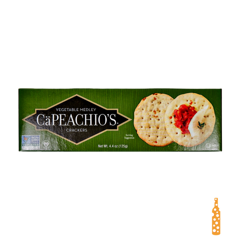 Capeachio's Vegetable Medley Crackers 4.4oz