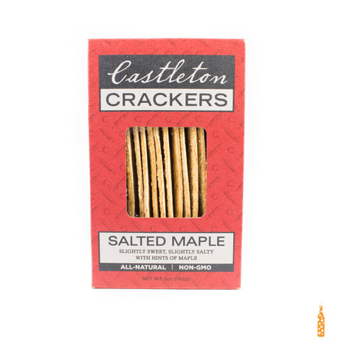 Castleton Crackers - Salted Maple (5 oz) - Cheese and Wine Traders