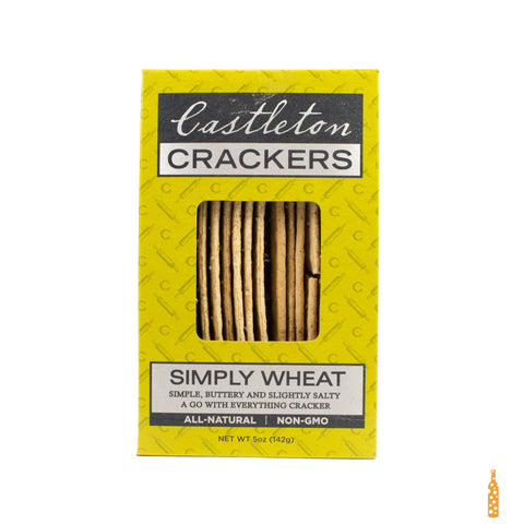 Castleton Crackers - Simply Wheat (5 oz) - Cheese and Wine Traders
