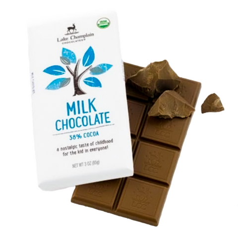 Lake Champlain Chocolates - Organic Milk Chocolate Bar