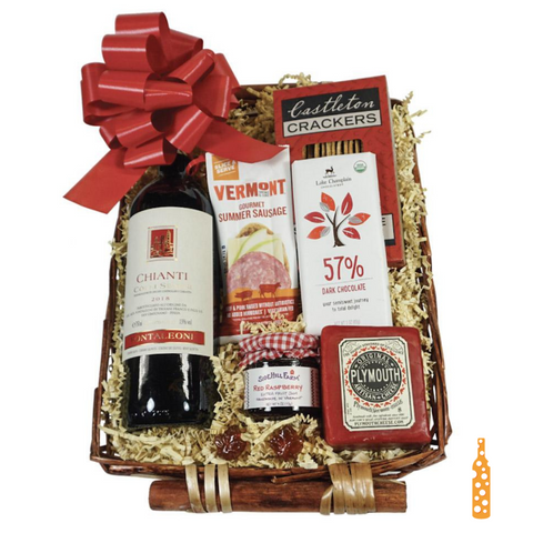 Gourmet Red Wine Basket