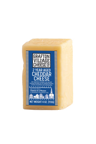 Grafton Village Cheese Co. - 2 Year Aged Cheddar (4 oz)