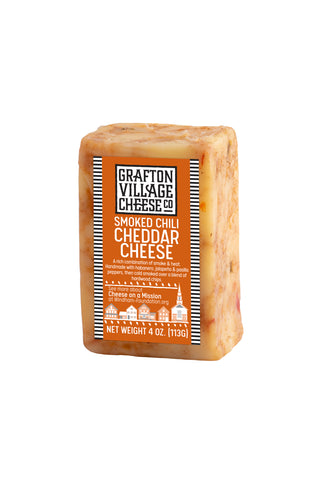 Grafton Village Cheese Co. - Smoked Chili Cheddar (4oz)