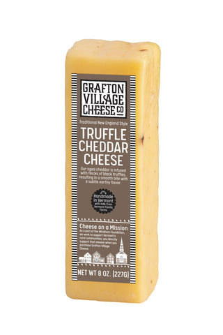 Grafton Village Cheese Co. -Truffle Cheddar (8oz)