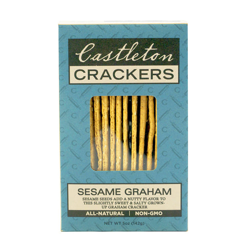 Castleton Crackers Sesame Graham