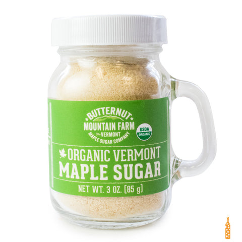 Butternut Mountain Farm - Organic Vermont Maple Sugar (3 OZ) - Cheese and Wine Traders