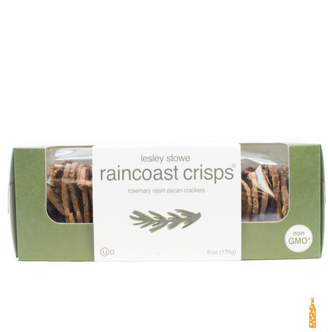 Raincoast Crisps - Rosemary Raisin Pecan Crackers (6 oz) - Cheese and Wine Traders