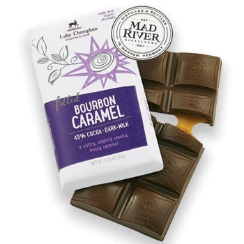 Lake Champlain Chocolates - Organic Bourbon Caramel Bar