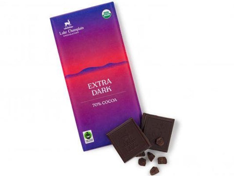 Lake Champlain Chocolates - Organic Extra Dark 3oz
