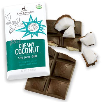 Lake Champlain Chocolates - Organic Creamy Coconut Bar