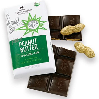 Lake Champlain Chocolates - Organic Peanut Butter Dark Chocolate