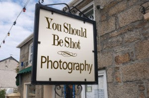 you should be shot photography