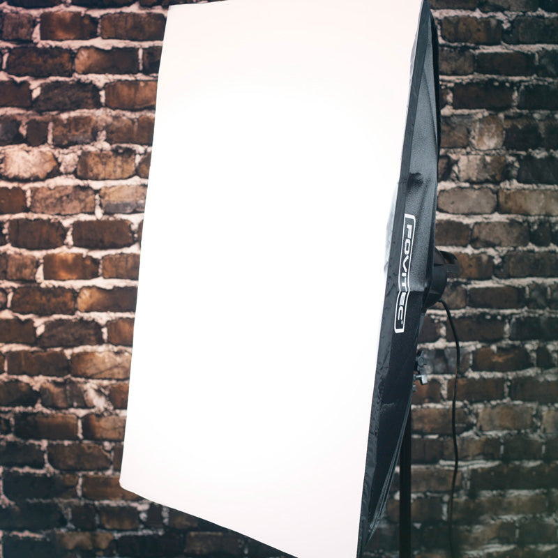 Rectangle Softbox for 5 Head or 7 Head Fluorescent Sockets