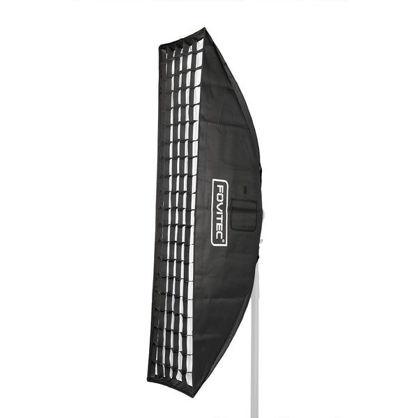 Deluxe Softbox with Grid & Bowens Speedring - Strip - 14 x 62