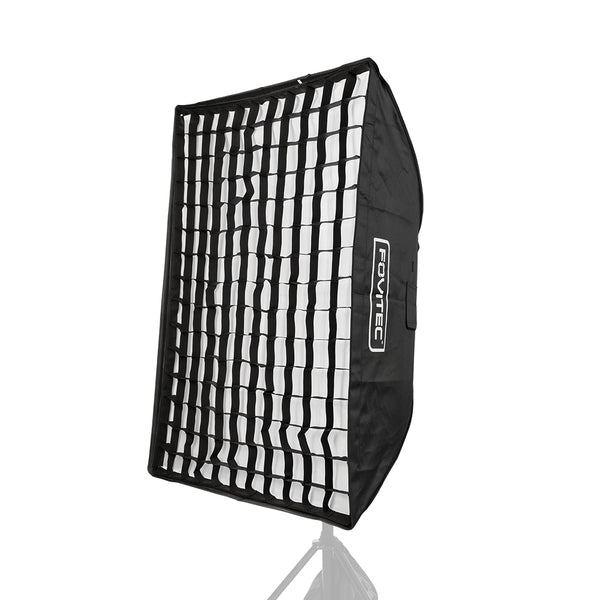 Deluxe Softbox with Grid & Bowens Speedring - Rectangle - 36