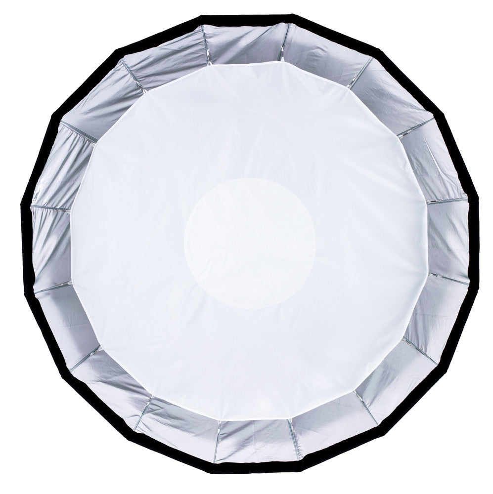 "StudioPRO 59"" 16 Rods Parabolic Softbox for Bowens Monolights With Mounting Arm"