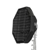 EZ-Setup Foldable Beauty Dish with Grid & Bowens Speedring - 24""