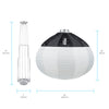 Lantern China Ball Softbox with Bowens Speedring - 25